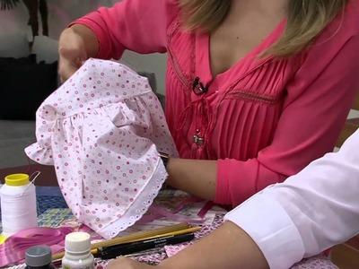 Mulher.com 02.10.2014 - Boneca Tati Decorativa por Claudete Messias - Parte 2