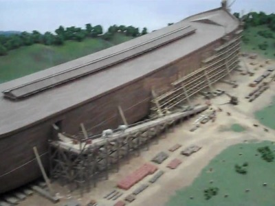 Noah's Ark in Diorama Format! Creation Museum