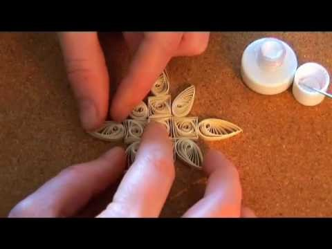 Quilling Basics & Quilled Christmas Decorations