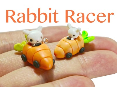 Rabbit Racer Polymer Clay Tutorial
