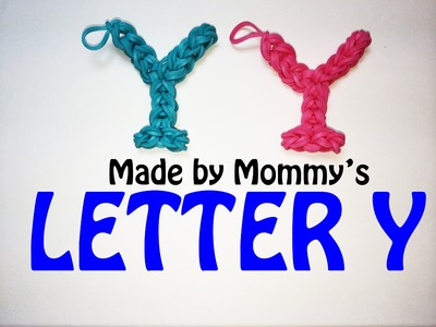 Rainbow Loom Letter Y Charm Using Just the Hook