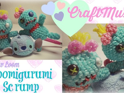 Rainbow Loom Loomigurumi Scrump from Lilo and Stitch