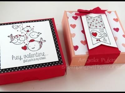 Valentine Little Cake Box