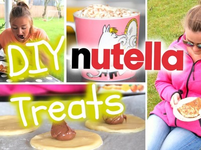 #5 Delicious DIY Nutella Treats For Summer!