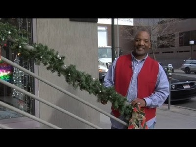 Christmas Decoration Ideas for Porch Railings : Christmas Decorating
