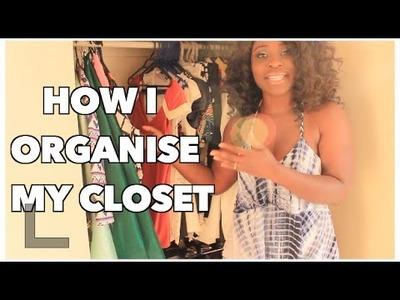CLOSET TOUR   How I Organize My Closet