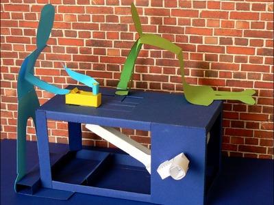 Crank Box, paper automaton