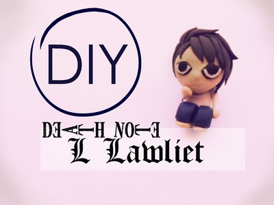 Death Note L.Lawliet Tutorial [Polymer Clay ^_^]