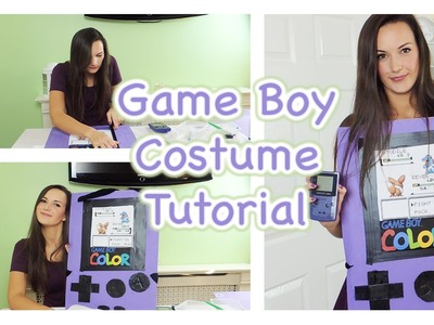 DIY Game Boy Costume Tutorial