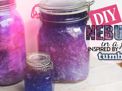 DIY Nebula in a Jar