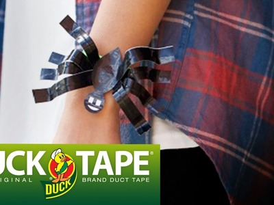 Duck Tape Crafts: How to Make a Spider Bracelet for Halloween with LaurDIY