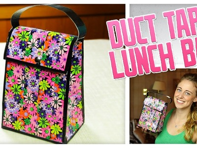 Duct Tape Lunch Bag - Do It, Gurl