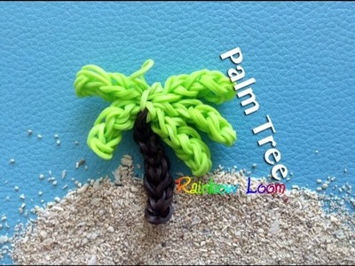 EASY Rainbow Loom Palm Tree Charms