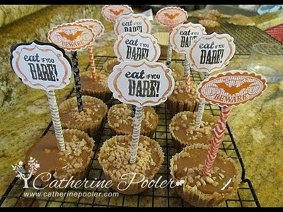 Fall Cupcakes and Paper Crafts for kids with Catherine Pooler