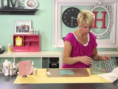 Heidi Swapp- Create to Remember: Glitter Stenciling