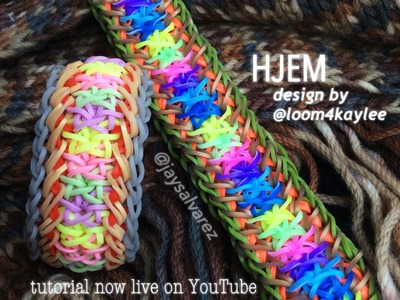HJEM loom tutorial by @jaysalvarez for ILOVEHUESHOP