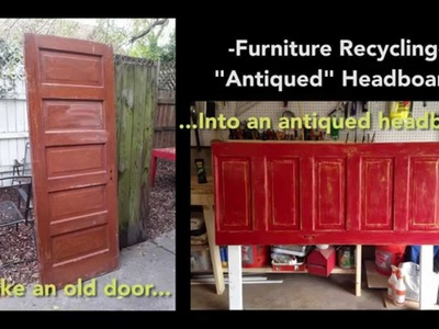 """How to """"Antique"""" a Piece of Furniture"""