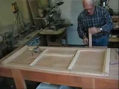 How to Build the Dowelmax TV Stand Part 1 - Building the Drawer Section of the Front Framework