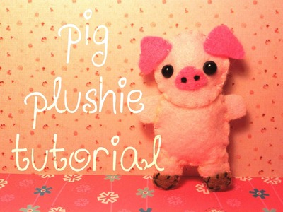 How to Make a Cute Pig Plushie