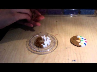 How to make a perler bead donut