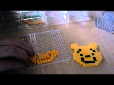 How to make a perler bead winnie the pooh
