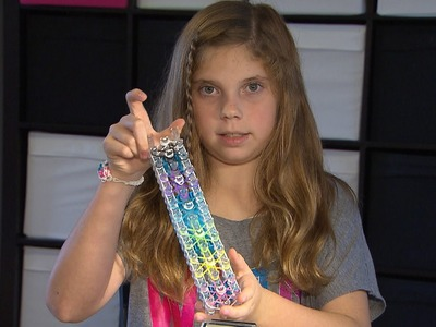 How To Make a Rainbow Loom Starburst Bracelet by Jillian