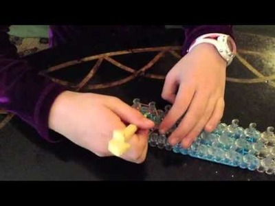 How to make a Rose Charm on Rainbow Loom