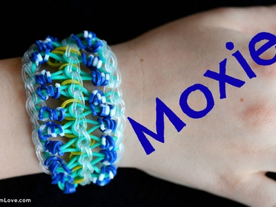 How to Make the Rainbow Loom MOXIE bracelet