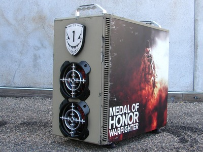 """Medal of Honor Warfighter"" AMD Gaming Evolved PC Case Mod Giveaway Build Part 1"