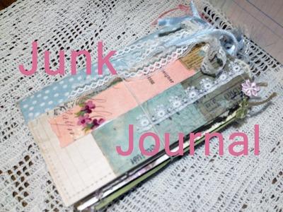 My first junk journal - craft scrap.junk journal