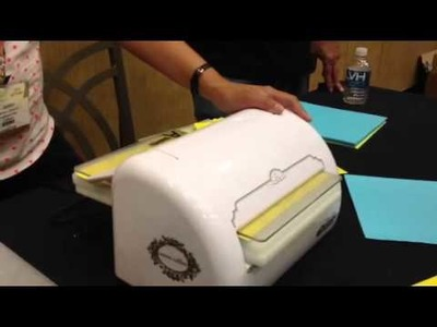 New craft product demo: Teresa Collins EBosser
