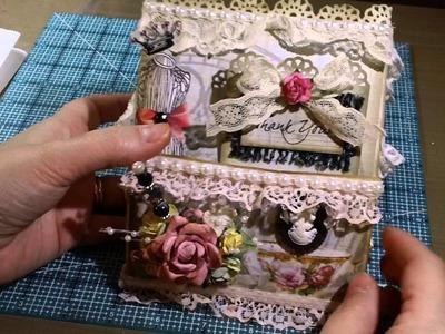 New Design - Paper Bag Pocket Tussie Mussie