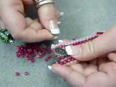 Odd Count Peyote Stitch Bracelet - Part2
