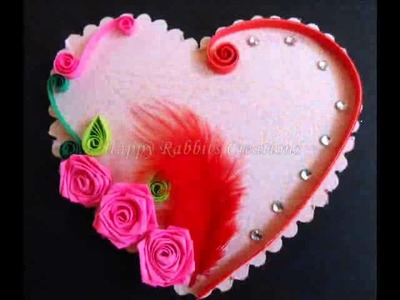 Paper Quilling Hearts
