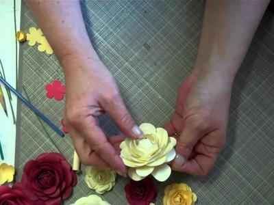 Paper Rose Tutorial 3