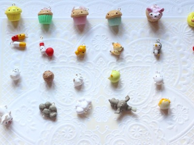 Polymer Clay Charm Update #1 ~ Charms inspired by Frainyxo, MsParkPark, LilacSprinkles and More!