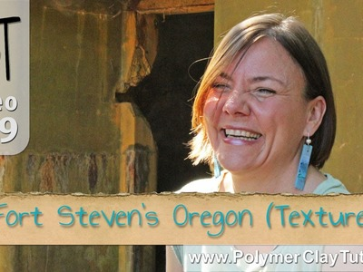 Polymer Clay Rustic Texture Inspiration - Fort Steven's, Oregon