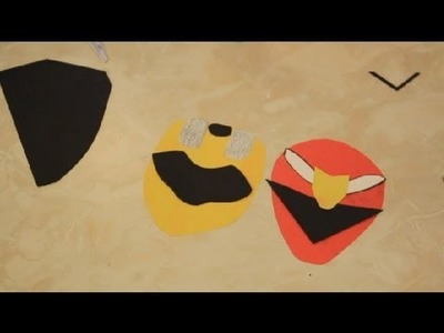 Power Ranger Decor for a Kid's Room : Decoration Crafts