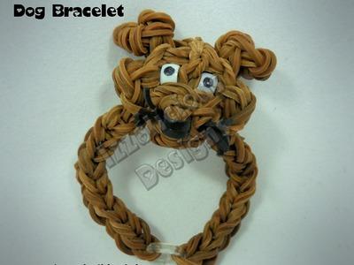Rainbow Loom Dog Charm Bracelet