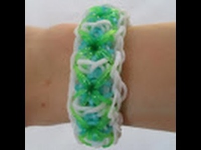 Rainbow Loom- How to make a Tile Bracelet (Original Pattern)