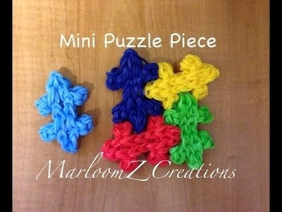 Rainbow Loom Mini Puzzle: How To