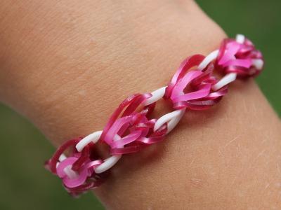 Rainbow Loom Nederlands, Heart Link Armband