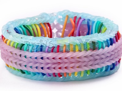 Rainbow Loom Nederlands, Super Stripe Fishtail