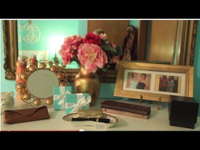 Room Decor: How to make your Dresser Classy & Elegant!