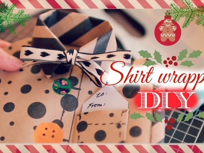 Shirt gift wrapping tutorial | DIY