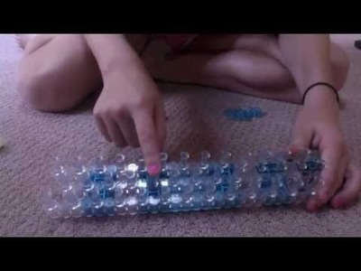 Tic-Tac-Toe Rainbow Loom