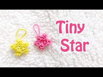 Tiny Star Charm Rainbow Loom (With or without loom)