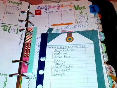 Two super-quick Planner DIYs for your Filofax.Day-Timer.Personal organizer