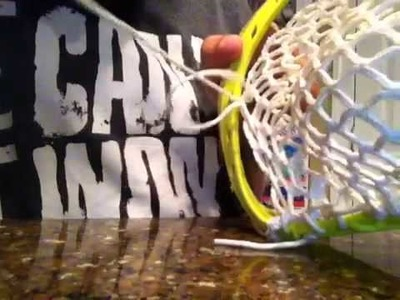 Chenango top string tutorial pt1