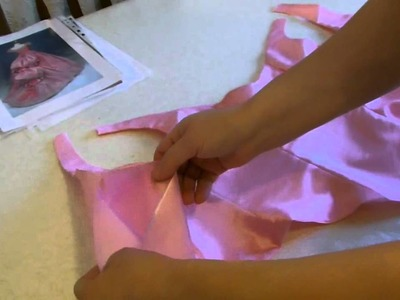 Christine Daae Masquerade Bodice Tutorial part 1